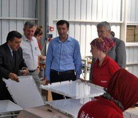 Söğütlü Fabrikamıza Sakarya Milletvekili Hasan Ali Çelik ziyareti