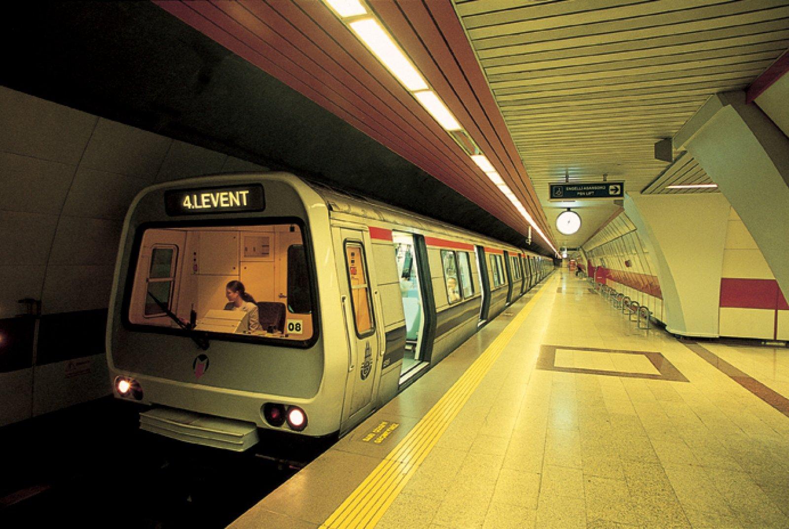 Taksim-Levent Arası Metro İstasyonları