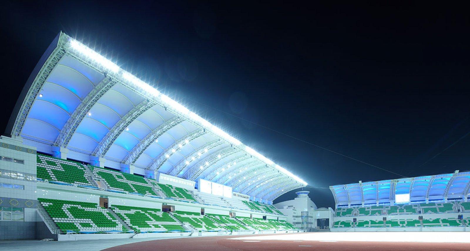 Aşkabat Stadyumu, Türkmenistan
